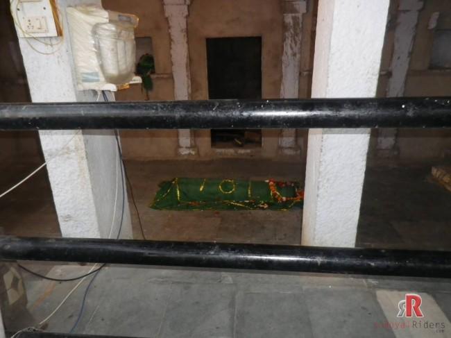 A Dargah Inside Shanichara Mandir Premises