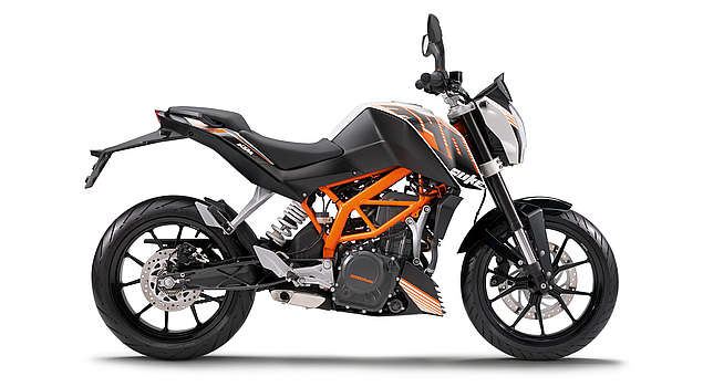 The Bajaj KTM Duke 390 Bike in India