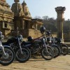 Royal Riders at Batesara Group of Temples