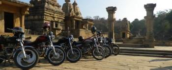 Royal Riders at Batesara Group of Temples
