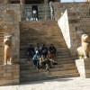 Garhi Padavali Inner Staircase at main Entrance.