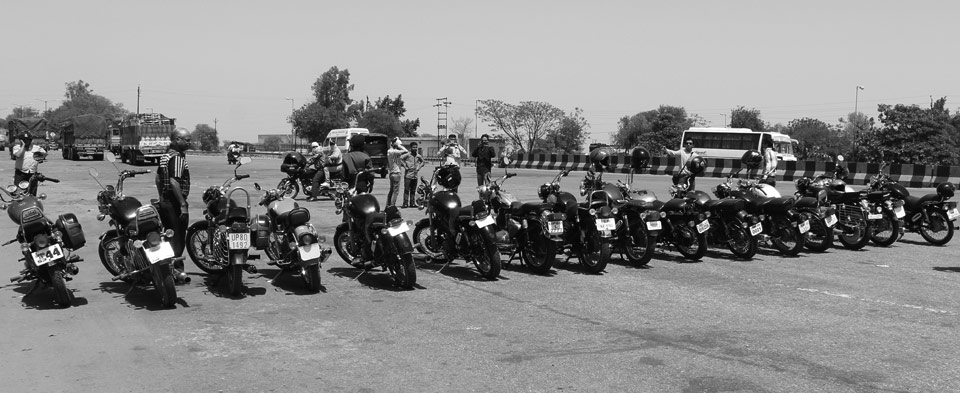 One ride by Royal rider group April 2013