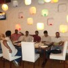Royal Riders at Vedic Restaurant