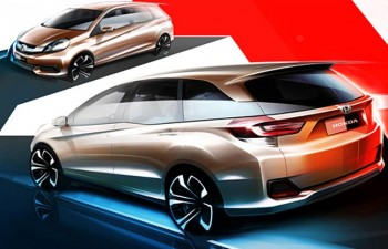 Honda Brio LMPV official sketch revealed