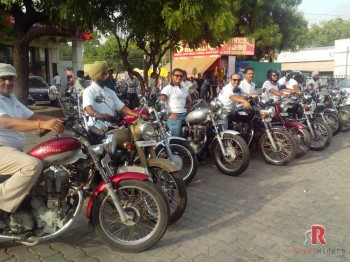 June 7 Meetup  by Royal Riders Agra.