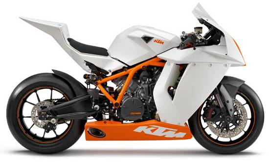 fully faired duke based ktm rc390, ktm rc125 and ktm rc200 bikes