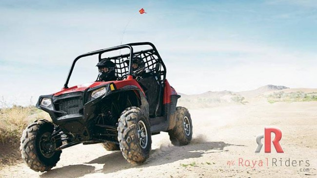 Polaris RZR -S 800 ATV  for Gujarat Polic.