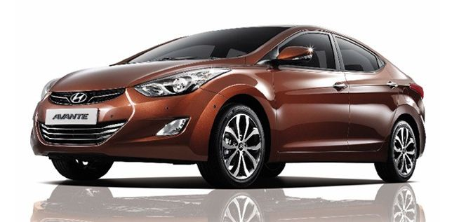 Face-lifted Hyundai Elantra Avante 2014