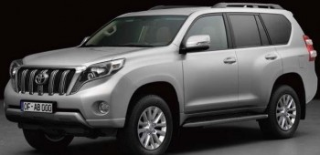 Toyota Land Cruiser Prado facelift