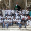 Bullet Riders ie. Royal Enfield Riders together inside Fatehpur Sikri