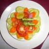 Salad was first thing offered to Royal Riders at lunch, while waiting for main course , we took a snap of the Salad.