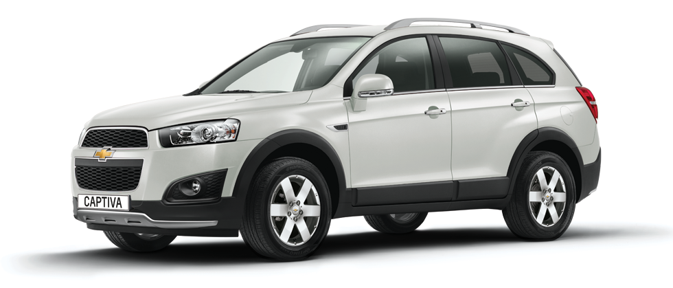 All new Face-lifted Chevrolet Captiva 2013