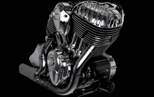 The Thunder Stroke 111 engine is going to power 2014 Indian Chief Motorcycle