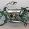 425cc 1914 V-Twin Royal Enfield Bike , note that glass oil chamber.