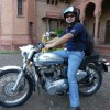 Mr. Himanshu Bansal with his love at St. Johns college Agra