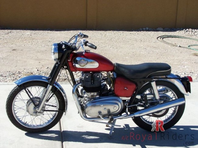 Royal Enfield  Constellation bike failed to became popular despite of its power and acceleration.