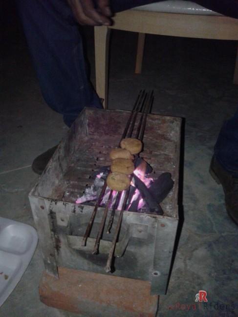 Veg Barbecued Kebabs