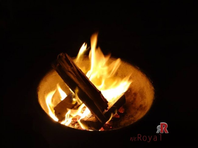 The bonfire in Agra by Royal Riders