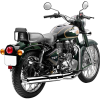 Green Royal Enfield Bullet 500