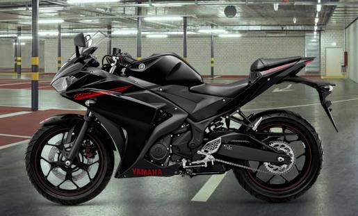 Yamaha YZF R25  Black