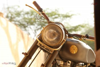Maintains the authenticity of Royal Enfield.