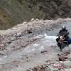 Through the rough terrain