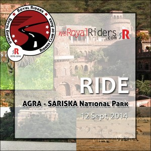 Ride to Sariska by weRoyal Riders