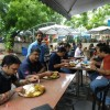 The lunch at Dilli Haat.