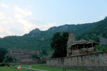 Mesmarising View of Bhangarh Royal Palace