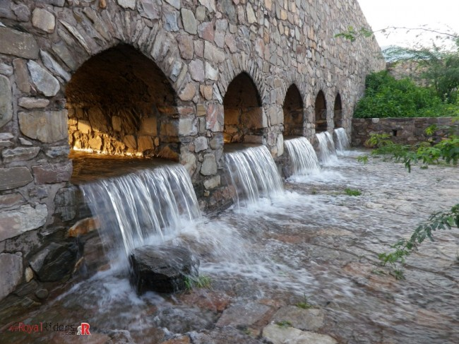 Fresh water stream from Bhangarh Fort
