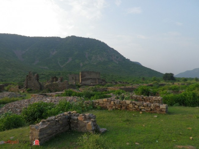 Ruins of City inside the Fort