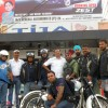 Royal Riders posing with new white Royal Enfield of Mr. Mahesh from Alwar.