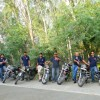 weRoyal Riders - Royal Enfield Club at Entrance of Mehtab Bagh.