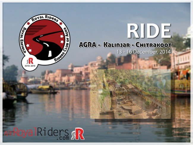 Exploring the heritage of India on Royal Enfield Bike.