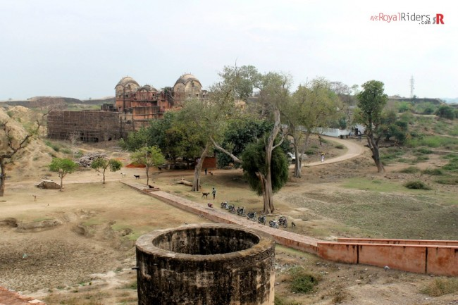 Inside Deeg fort.  Picture courtesy: Sabya Sachi Ghosh