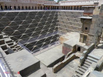 Another view of Chand Baoli