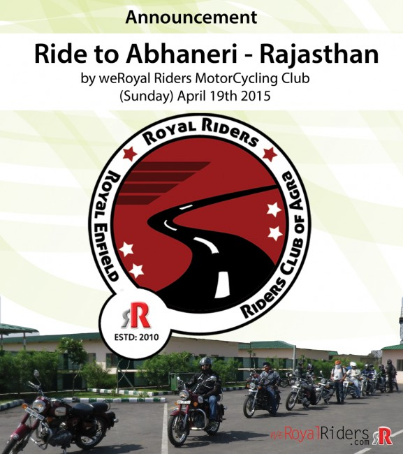 Ride to Abhaneri - Rajasthan