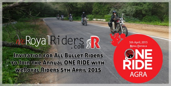 One Ride by weRoyalRiders Agra.