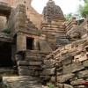 Water way - main ravine at Naresar temples