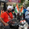 Harshpal Singh on his RE Thunderbird