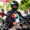 Rajesh Chauhan, the veteran rider.