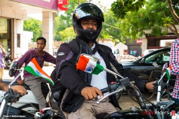 Rajesh Chauhan, the veteran rider.