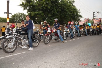 Ride on Road Safety Awareness .