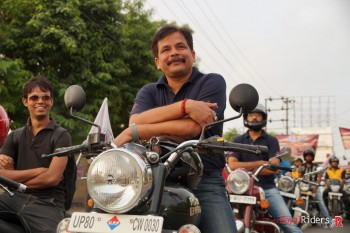 Vikram Shukla, a Rider at weRoyalRiders at the event.