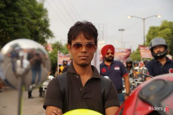 Aryan Raj, a youngster from weRR, also participated in Awareness Event.
