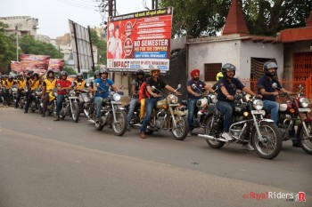 Bullet Riders from weRR committed to spread Road Safety  Awareness