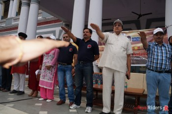 Taking Oath to spread Road Safety Awareness