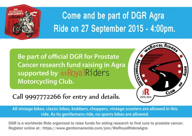 Official DGR - 2015 Agra Details