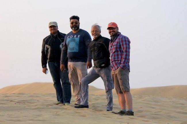 At Thar Desert