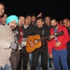 Mr. Shukla aka Viks with his Guitar and the club song.